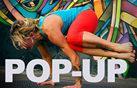 Pop Up Yoga!